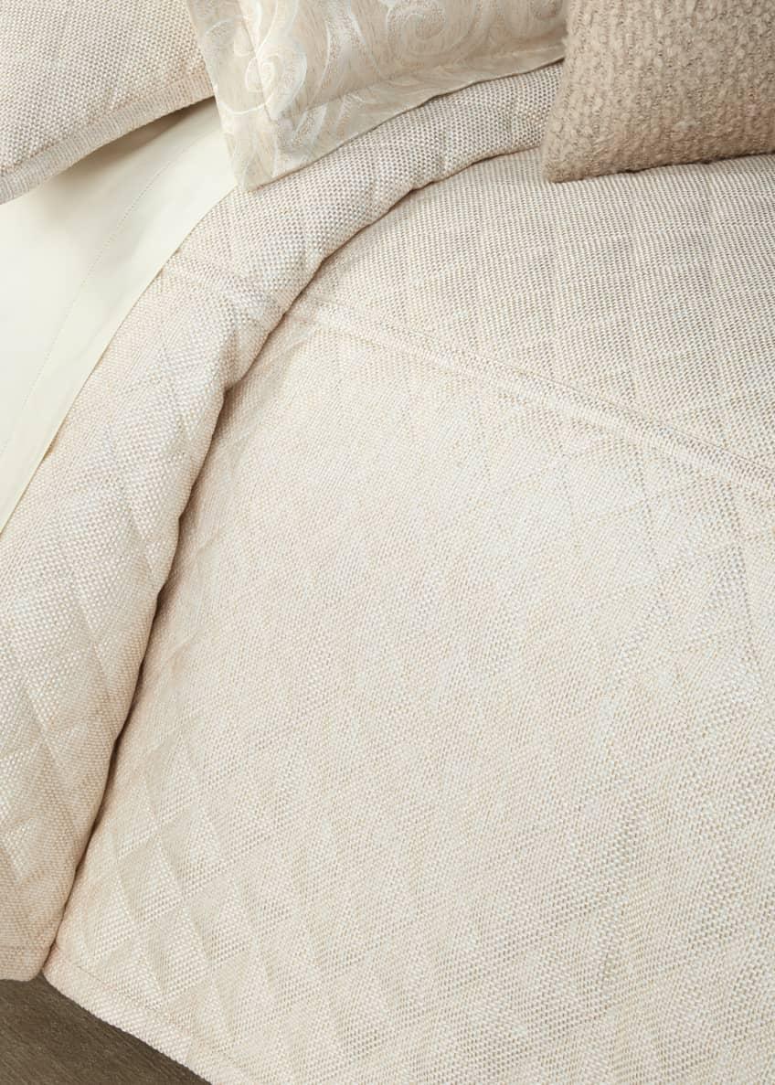 Ann Gish Raffia Queen Coverlet Set