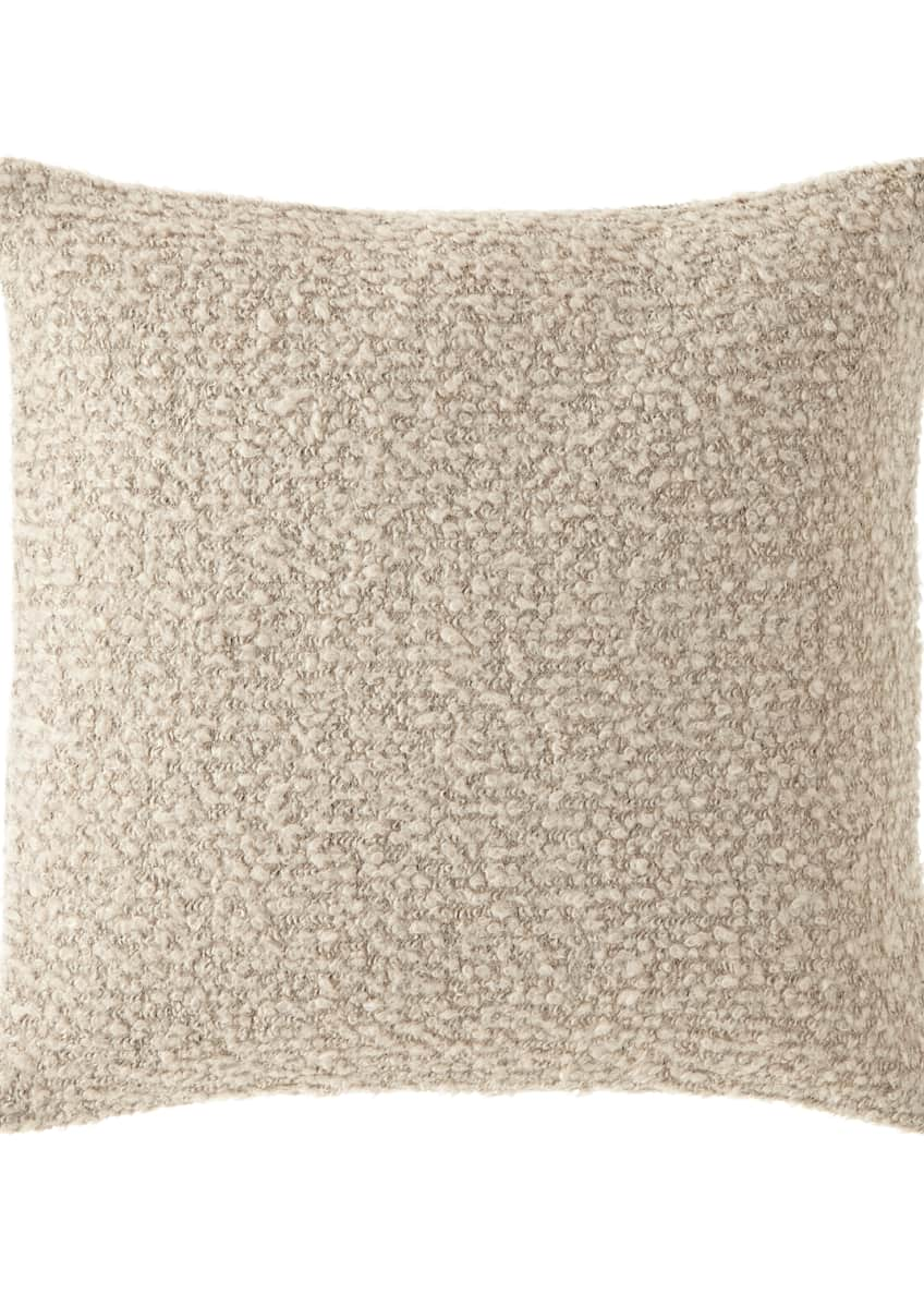 Image 1 of 1: Boucle Pillow, Beige