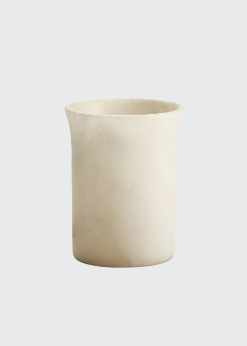 Image 1 of 1: Alisa Alabaster Tumbler, Cream