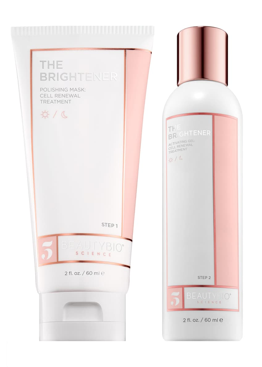 BeautyBio THE BRIGHTENER Two-Part Cell Renewal Treatment, 2