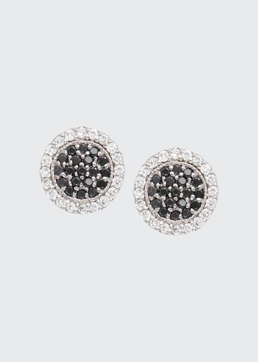 Jamie Wolf Scallop Pave Black & White Diamond