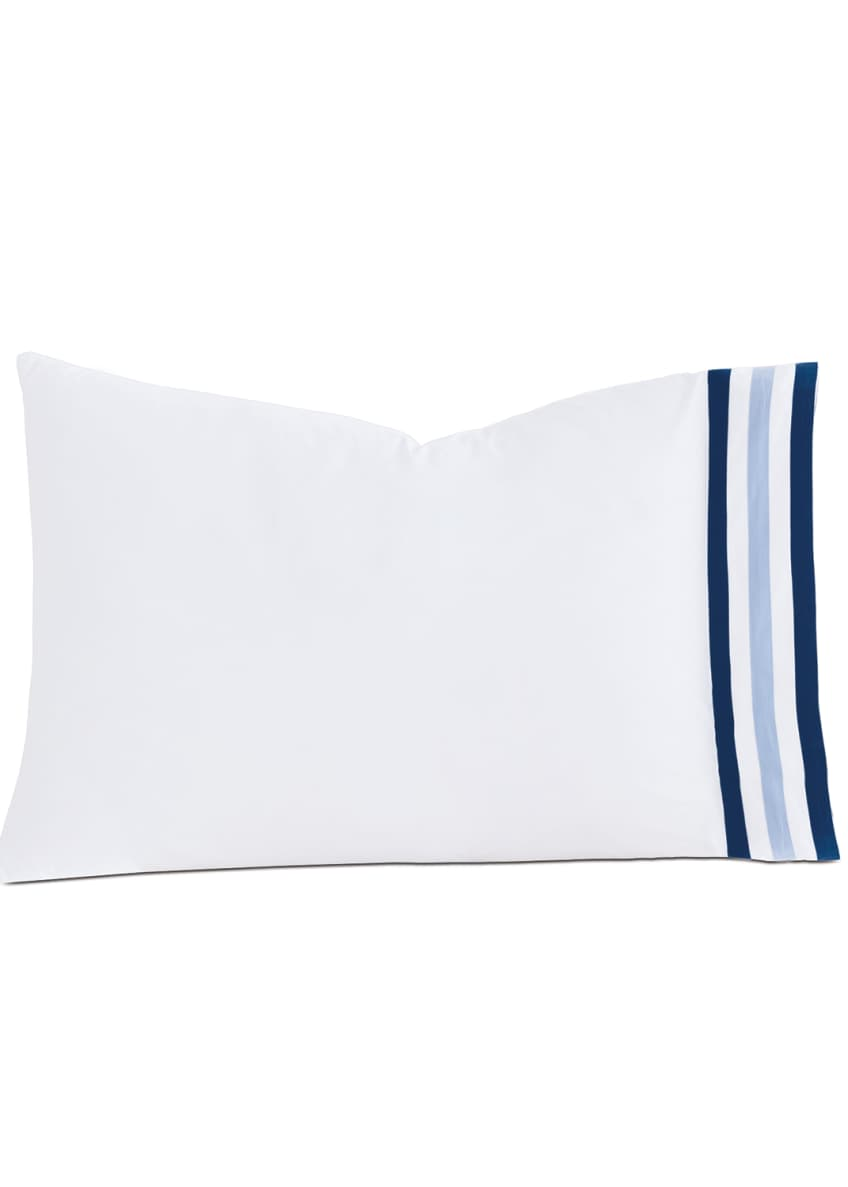 Image 1 of 1: Watermill Indigo Queen Pillow