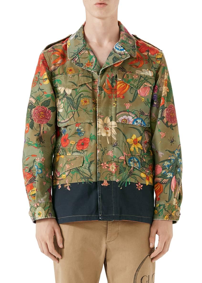 Gucci Floral Parka Jacket & Matching Items