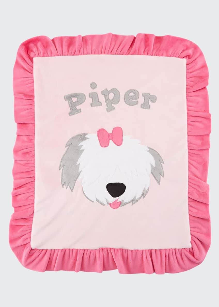 Image 1 of 2: Personalized Pup Love Plush Lovey, Pink