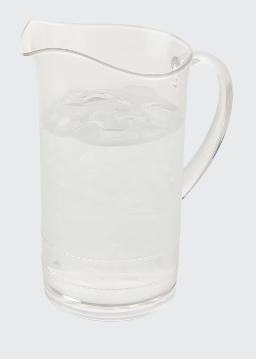 Image 1 of 2: Isabella Acrylic Pitcher
