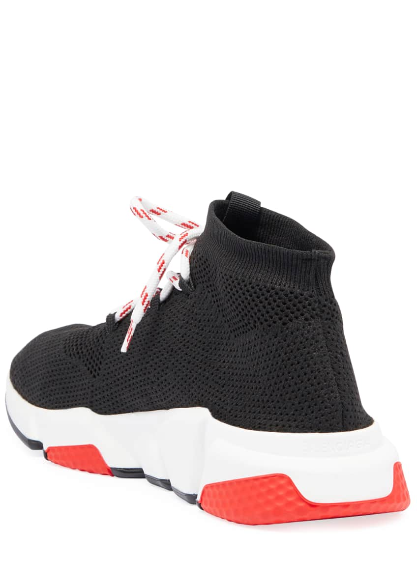 Image 3 of 3: Men's Speed Lace-Up Mesh Sneakers