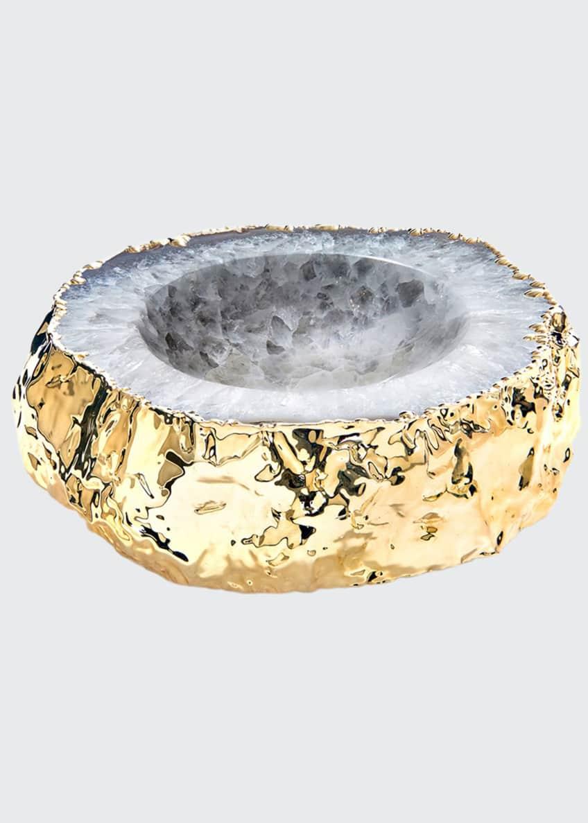 ANNA New York Cascita Bowl, Natural Gold