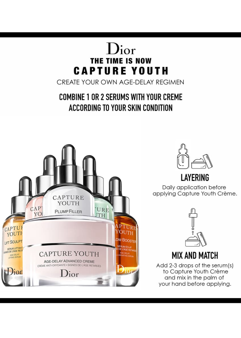 Image 4 of 5: Capture Youth Glow Booster Age-Delay Illuminating Serum, 1.0 oz./ 30 mL