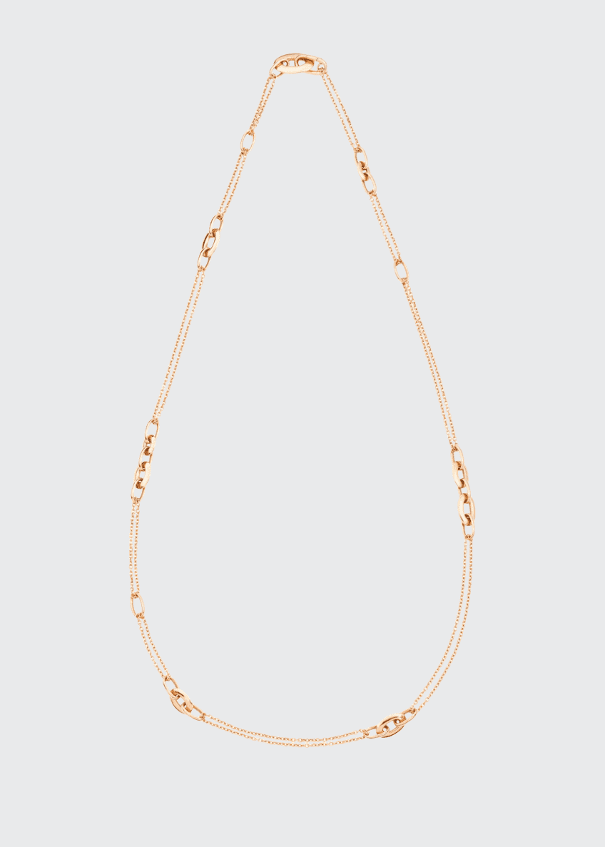 Image 1 of 1: Tango 18k Rose Gold Chain Necklace