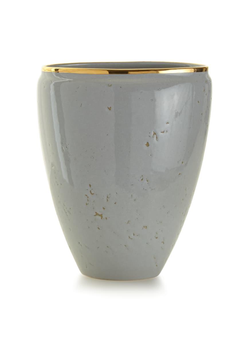AERIN Paros Medium Textured Ceramic Vase