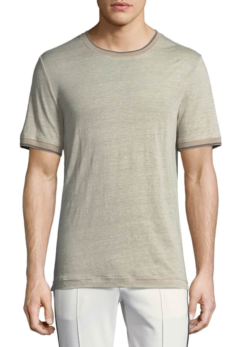 Vince Short-Sleeve Ribbed Sweater & Matching Items