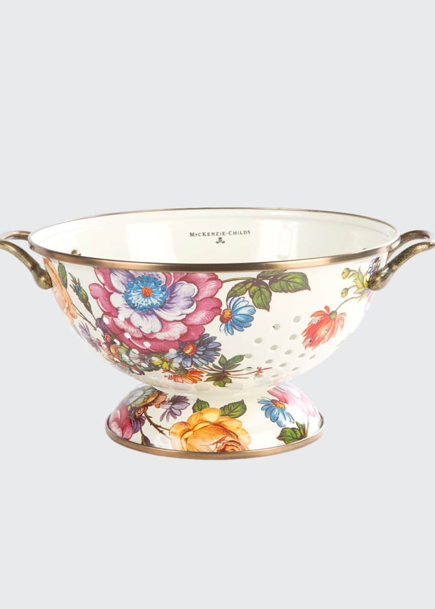 MacKenzie-Childs Flower Market Large Colander