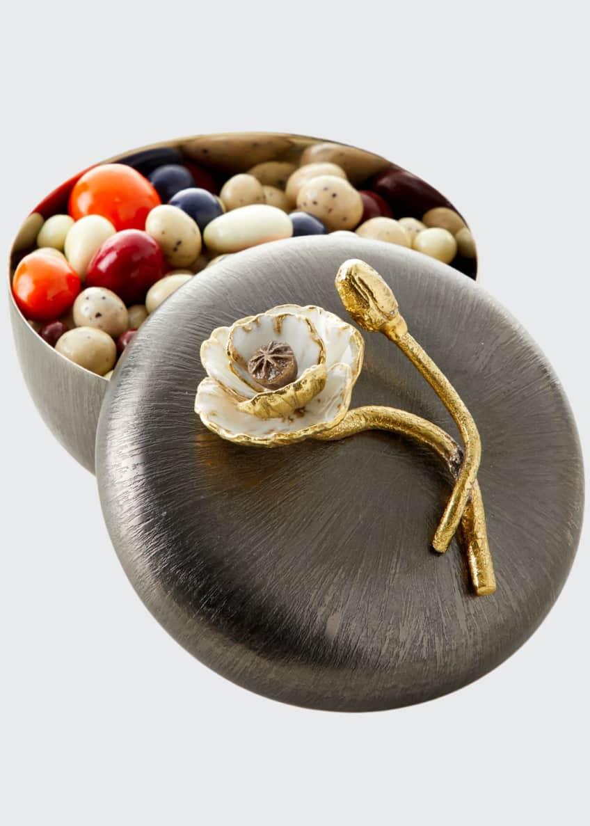 Michael Aram Anemone Covered Candy Dish