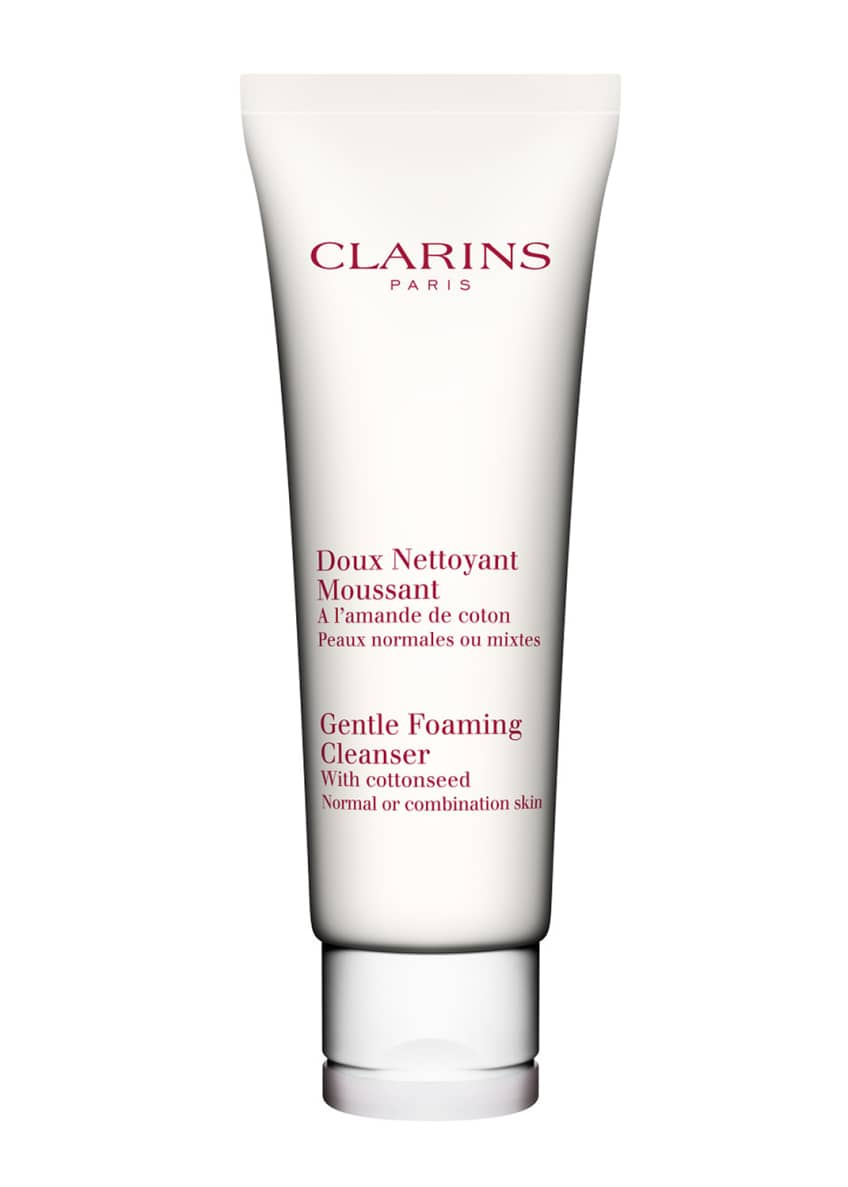 Clarins Gentle Foaming Cleanser with Cottonseed, Normal /