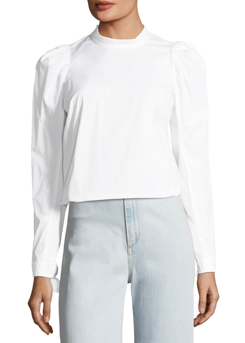 Veronica Beard Milli Button-Front Top & Matching Items