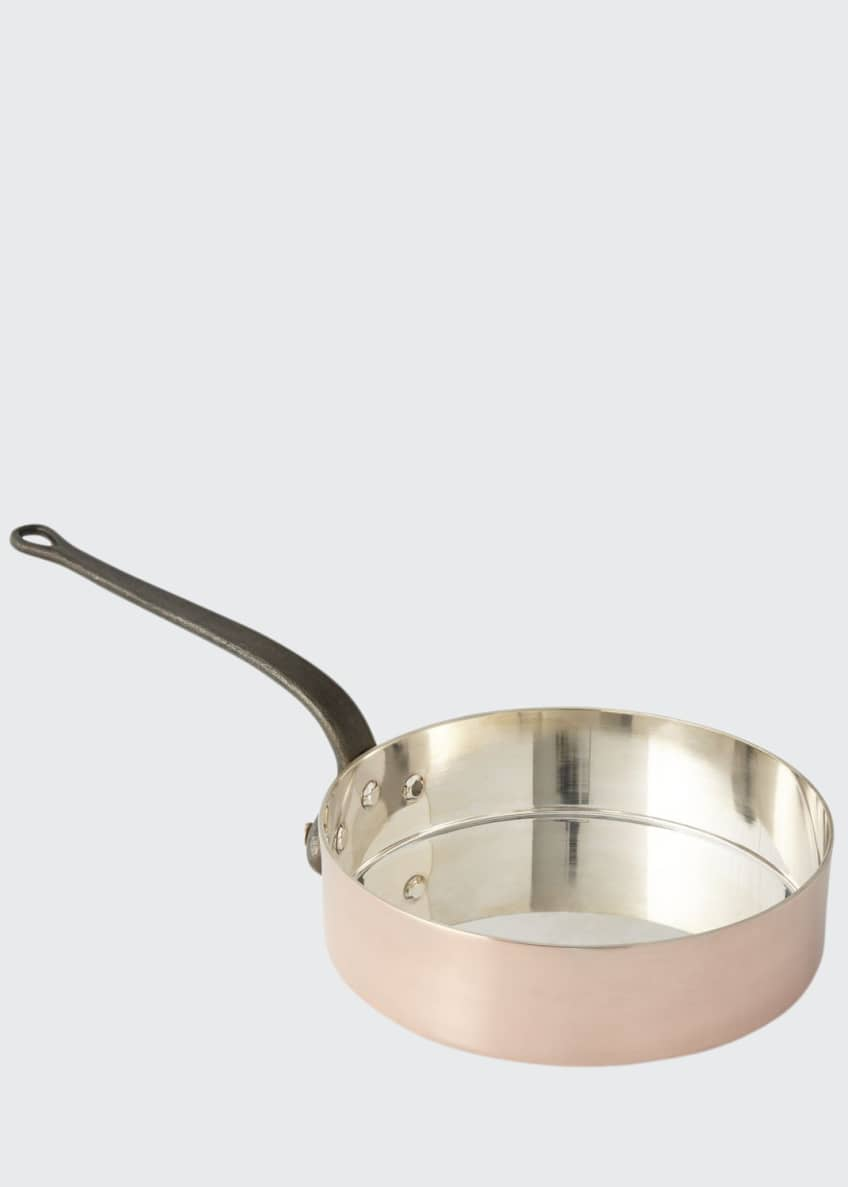Duparquet Copper Cookware Solid Copper Saute Pan with
