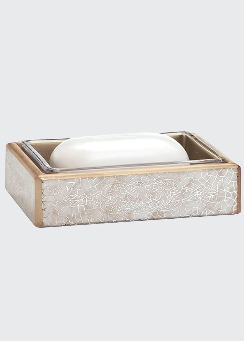 Labrazel Miraflores Soap Dish, Gold