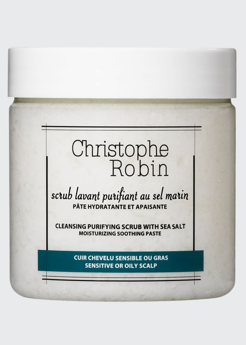 Christophe Robin Cleansing Purifying Scrub with Sea Salt,