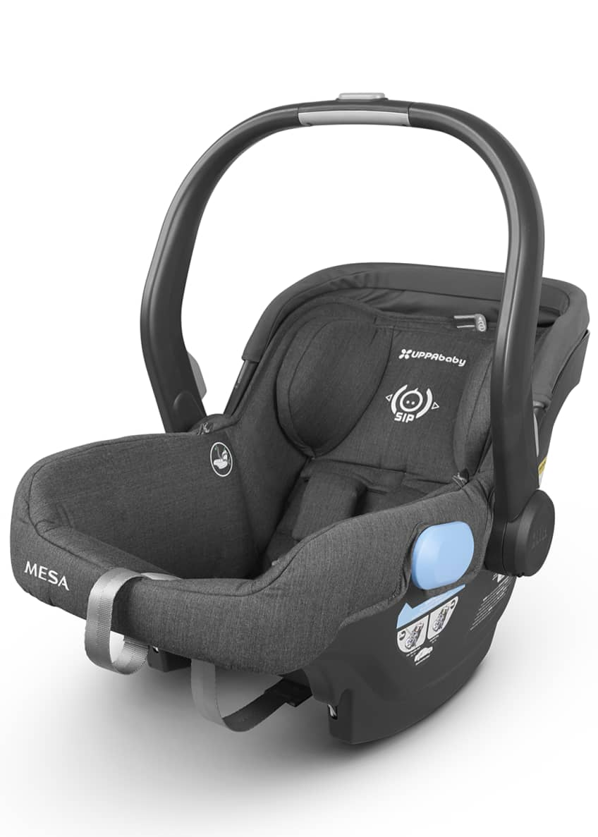Image 2 of 4: MESA™ Infant Car Seat w/ Base, Jordan (Black)