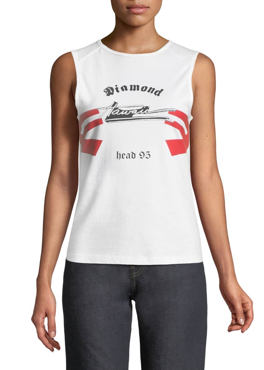 Helmut Lang Re-Edition Archive Summer Camp Graphic Tank
