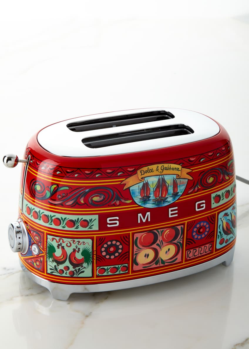 Image 2 of 5: Dolce Gabbana x SMEG Sicily Is My Love Toaster