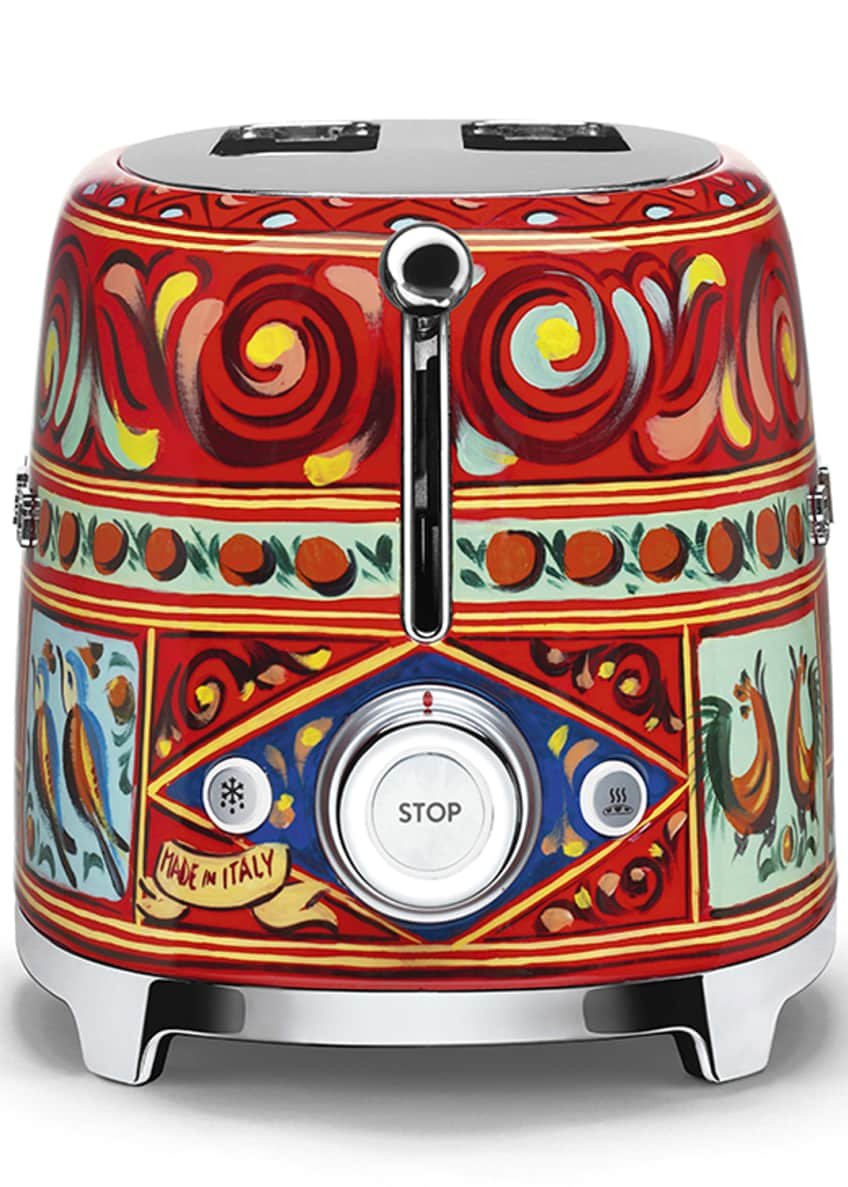Image 3 of 5: Dolce Gabbana x SMEG Sicily Is My Love Toaster