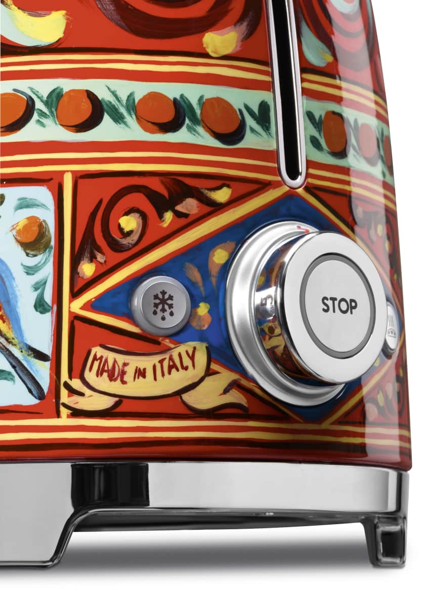 Image 5 of 5: Dolce Gabbana x SMEG Sicily Is My Love Toaster