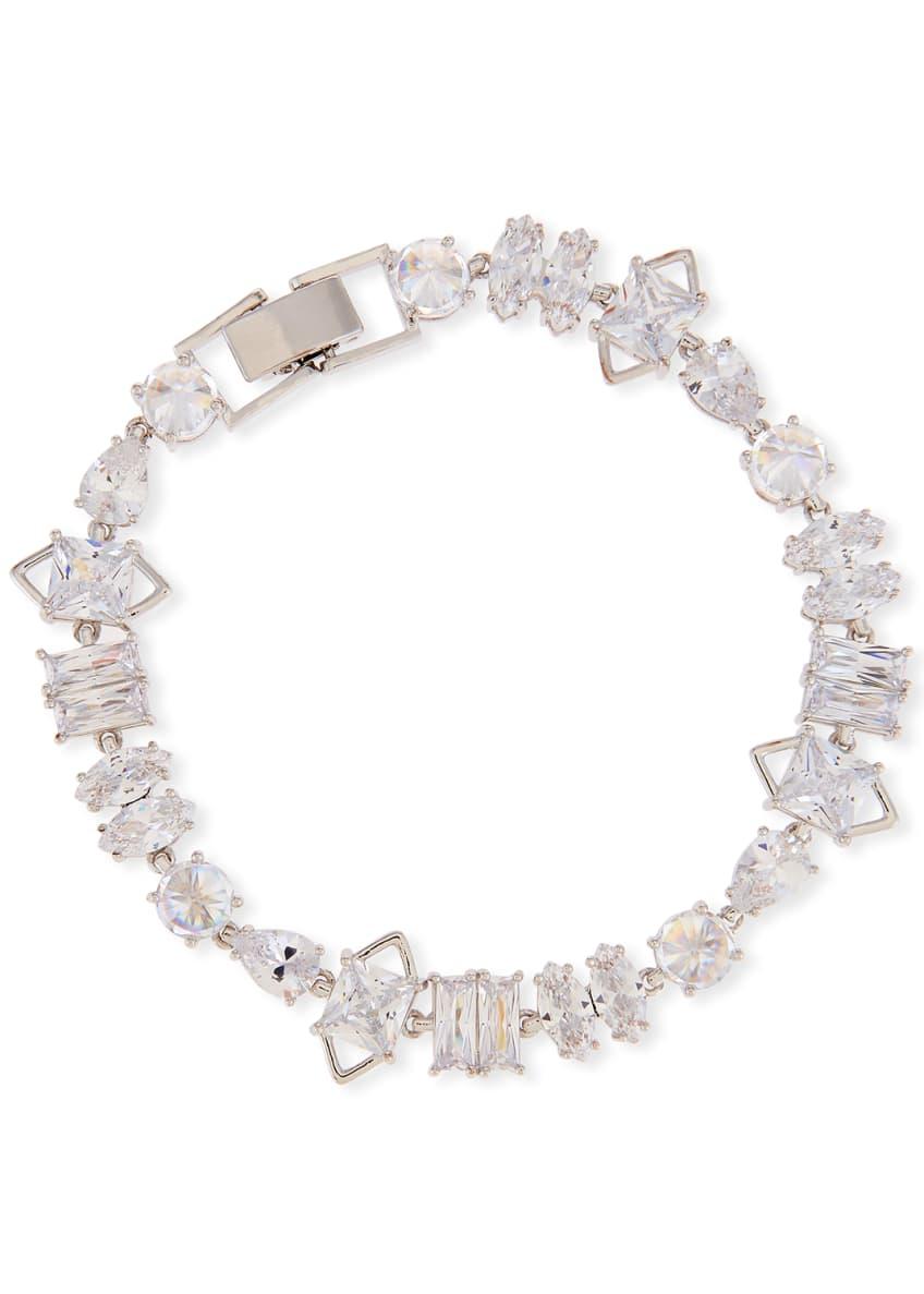 Fallon Jagged Edge Cubic Zirconia Bracelet