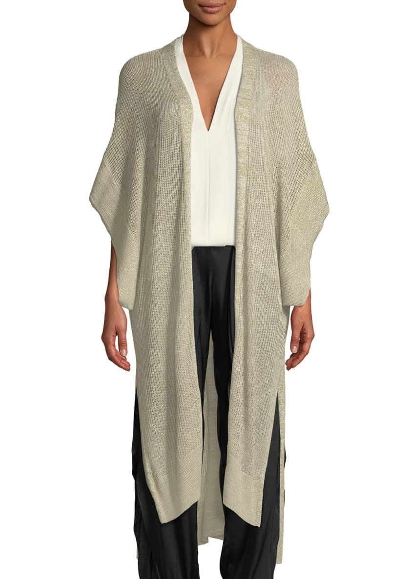 Halston Heritage Short-Sleeve Kaftan Cardigan & Matching Items