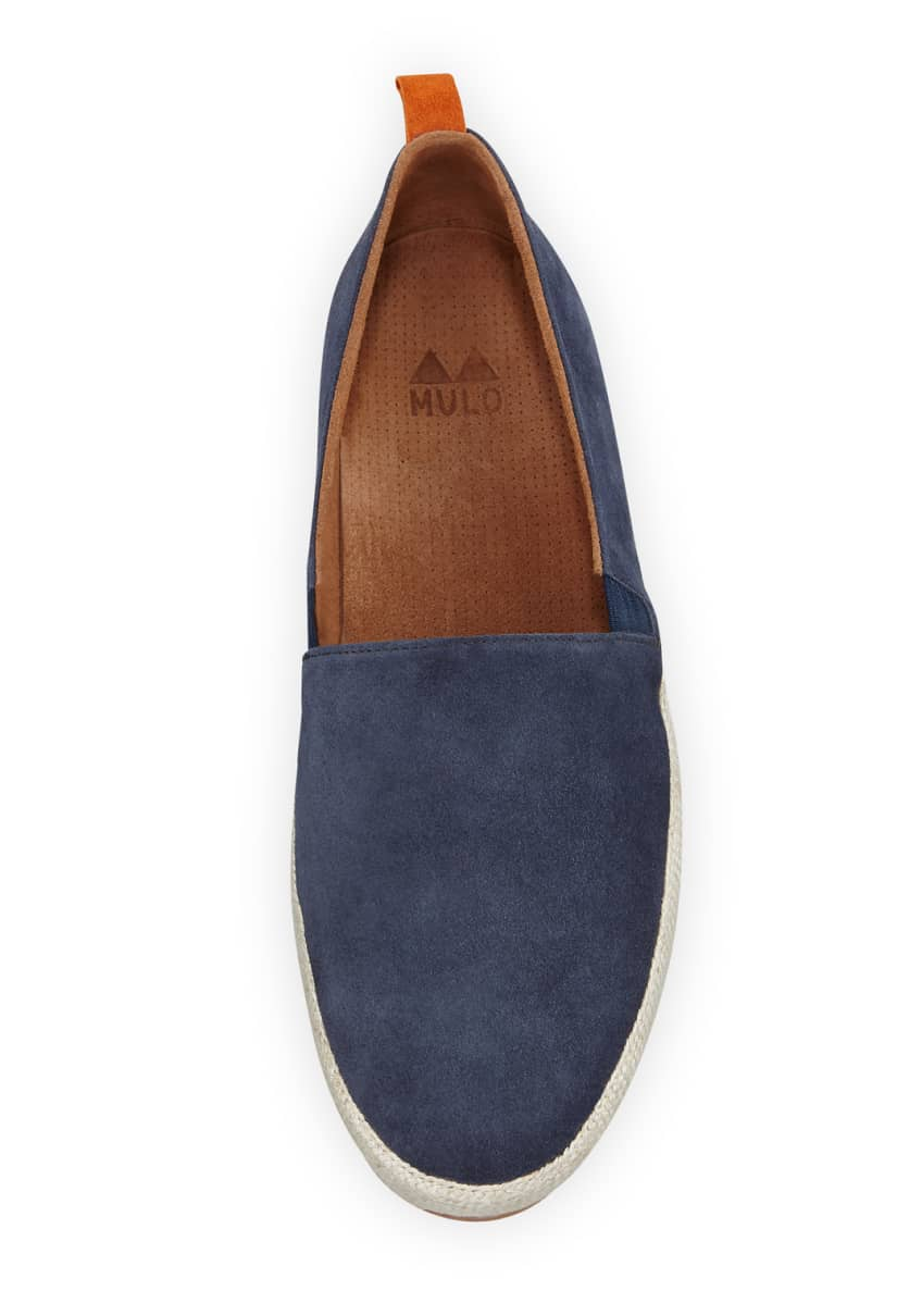Image 2 of 4: Men's Suede Espadrille