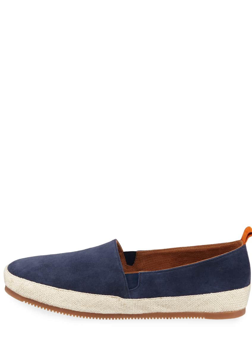 Image 3 of 4: Men's Suede Espadrille