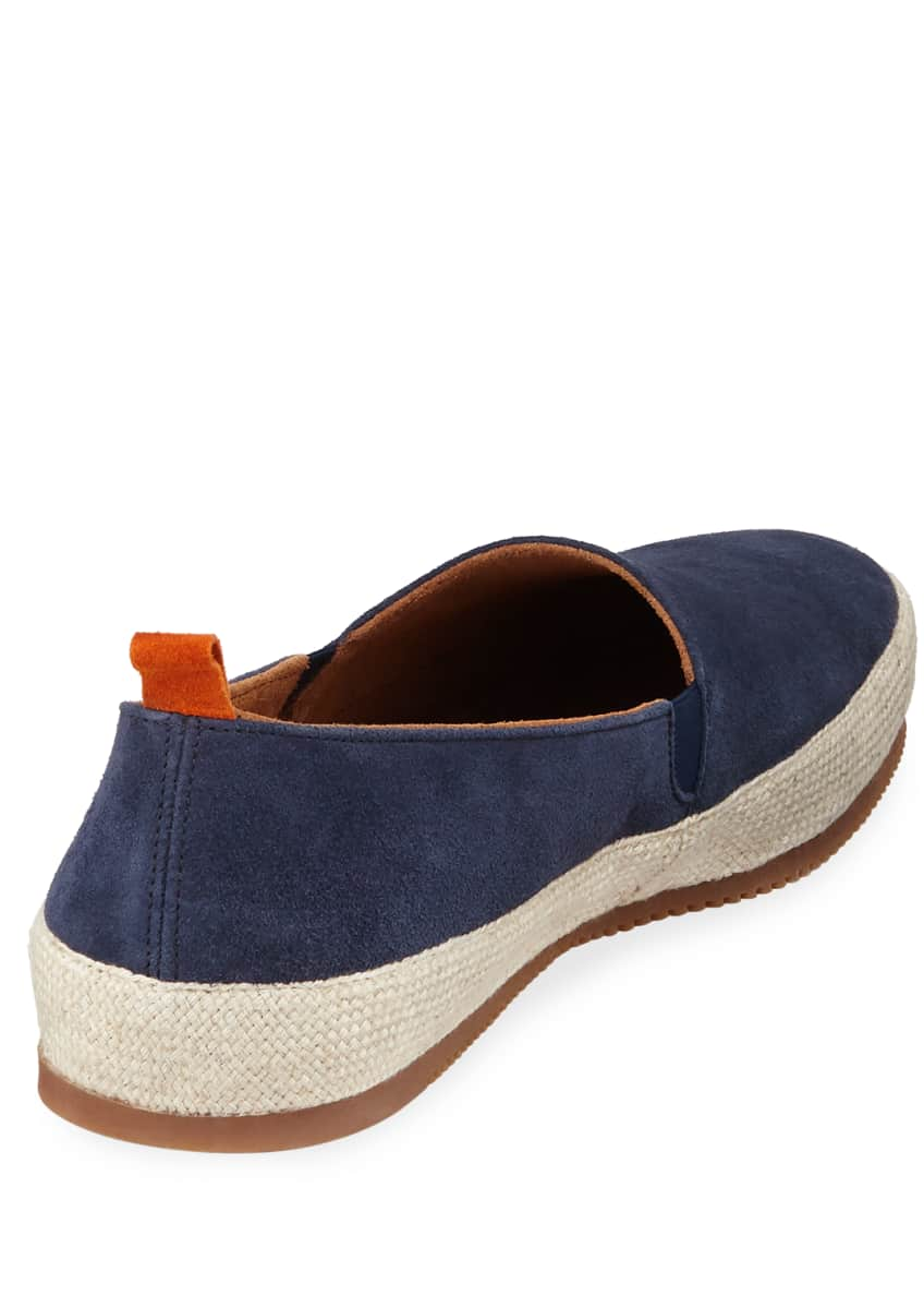 Image 4 of 4: Men's Suede Espadrille