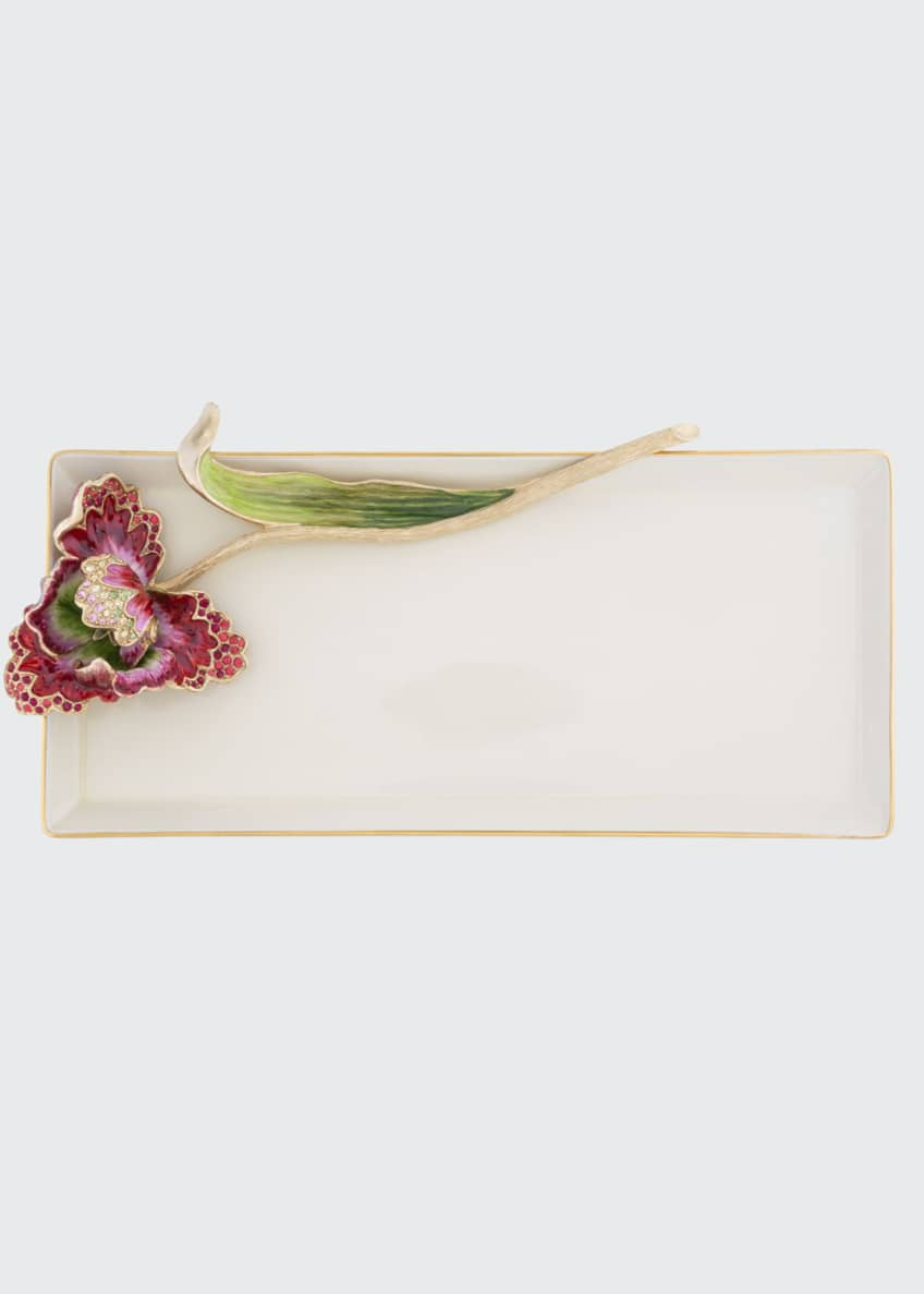 Jay Strongwater Tulip Tray