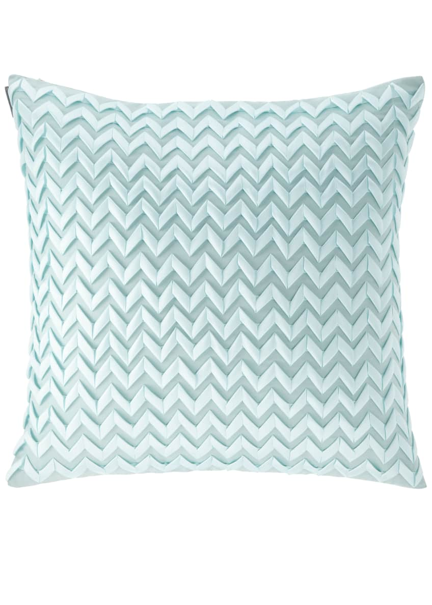 "Image 1 of 1: Chevron Pillow, 26""Sq."