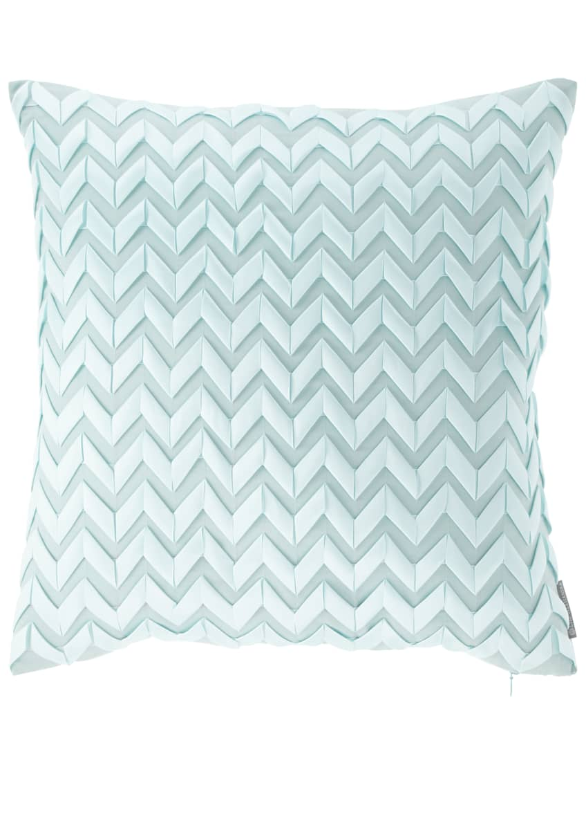 "Image 1 of 1: Chevron Pillow, 20""Sq."