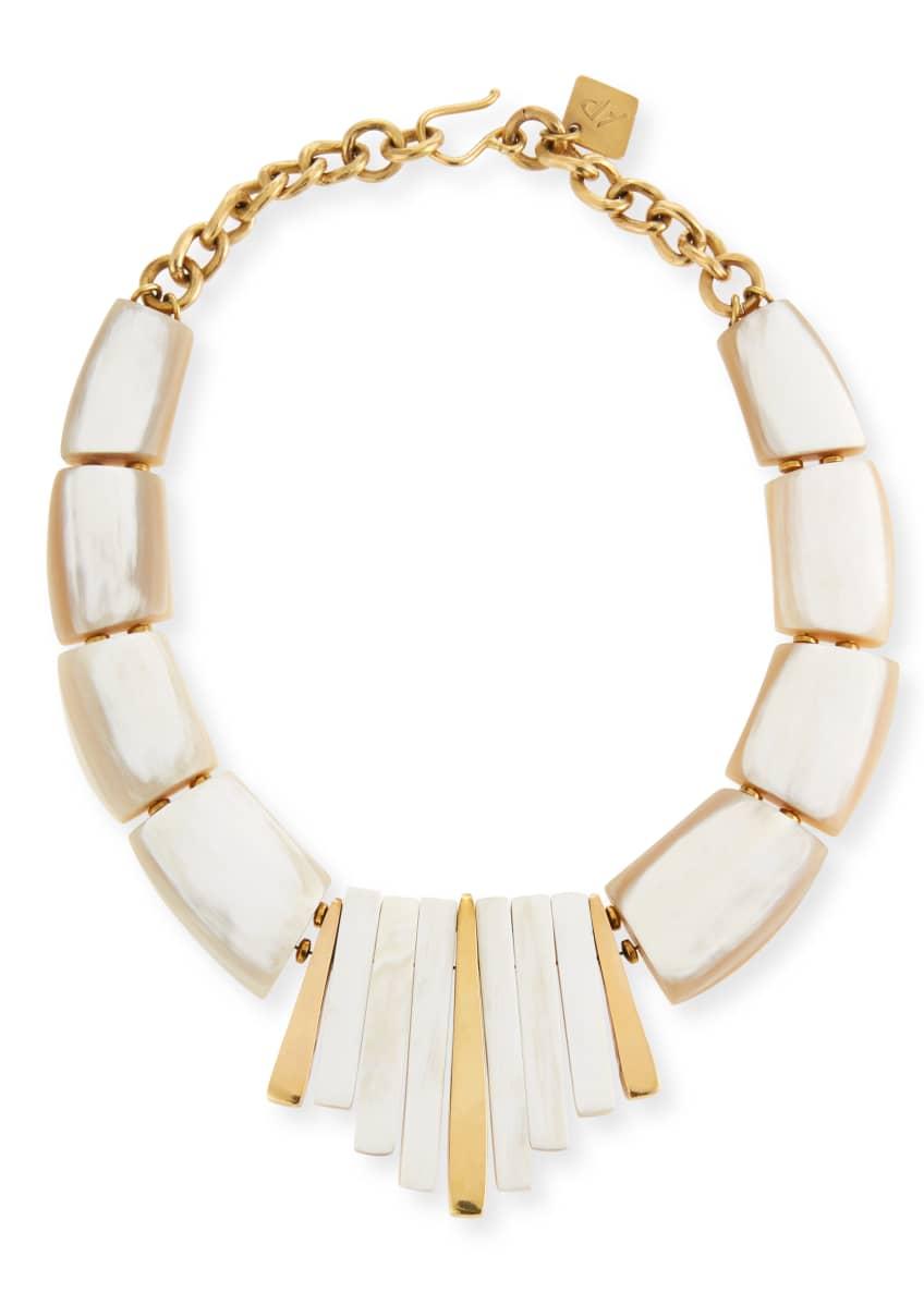 Ashley Pittman Karamu Chunky Collar Necklace