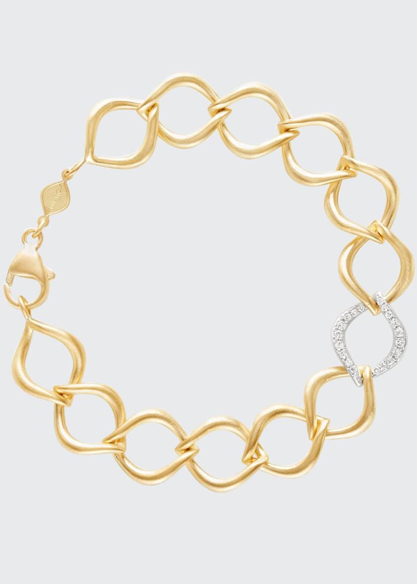 Jamie Wolf 18k Aladdin Chain-Link Bracelet w/ Diamond