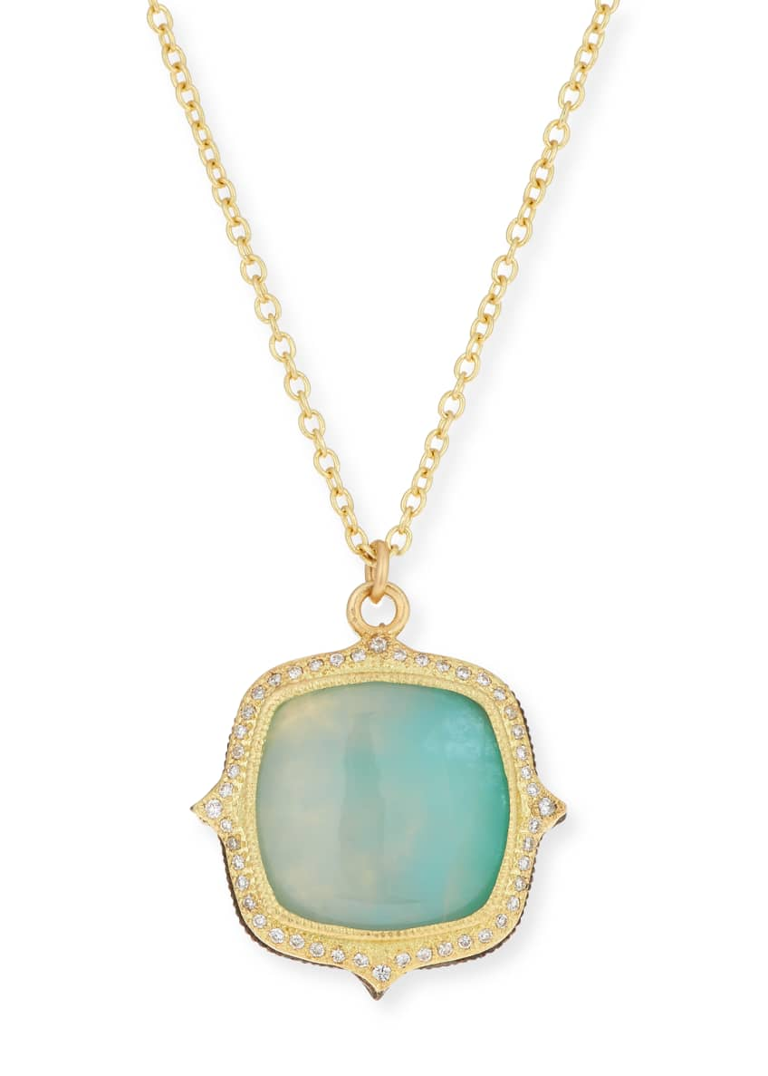 Armenta Old World 18k Aquaprase™ Pendant Necklace