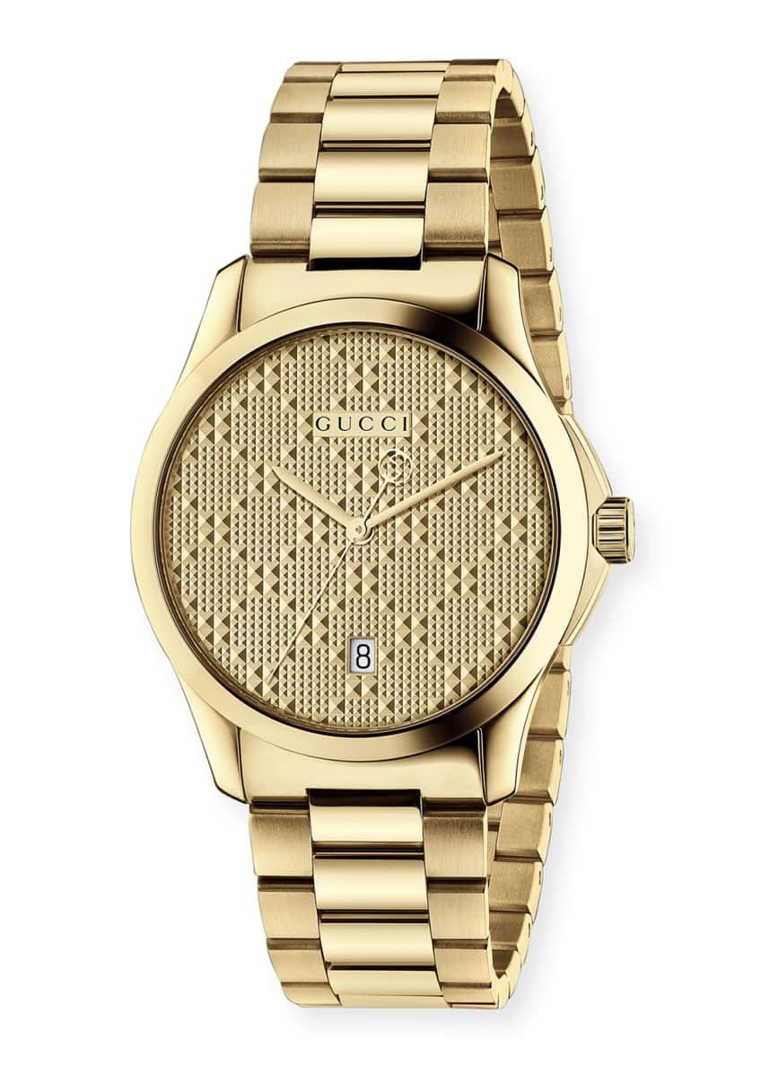 Gucci G-Timeless Bracelet Watch, Yellow Golden