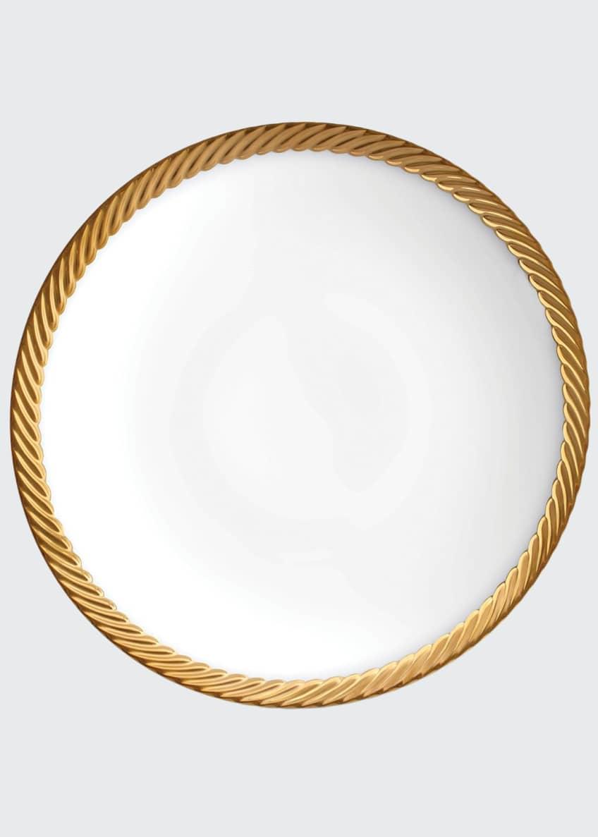 L'Objet Corde Gold-Rim Soup Bowl