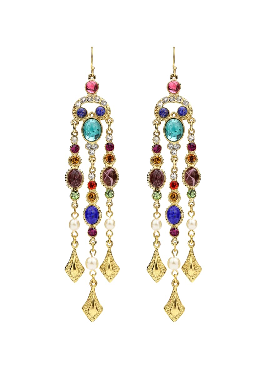 Ben-Amun Multicolor Dangle Drop Earrings