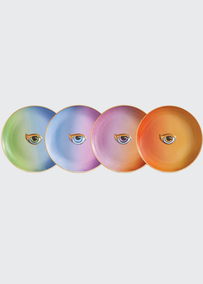 Image 1 of 1: Lito Canape Assorted Plates, Set of 4