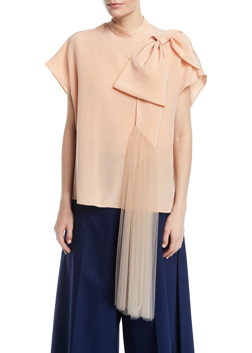 Delpozo Wide-Leg Cotton Cropped Pants & Matching Items