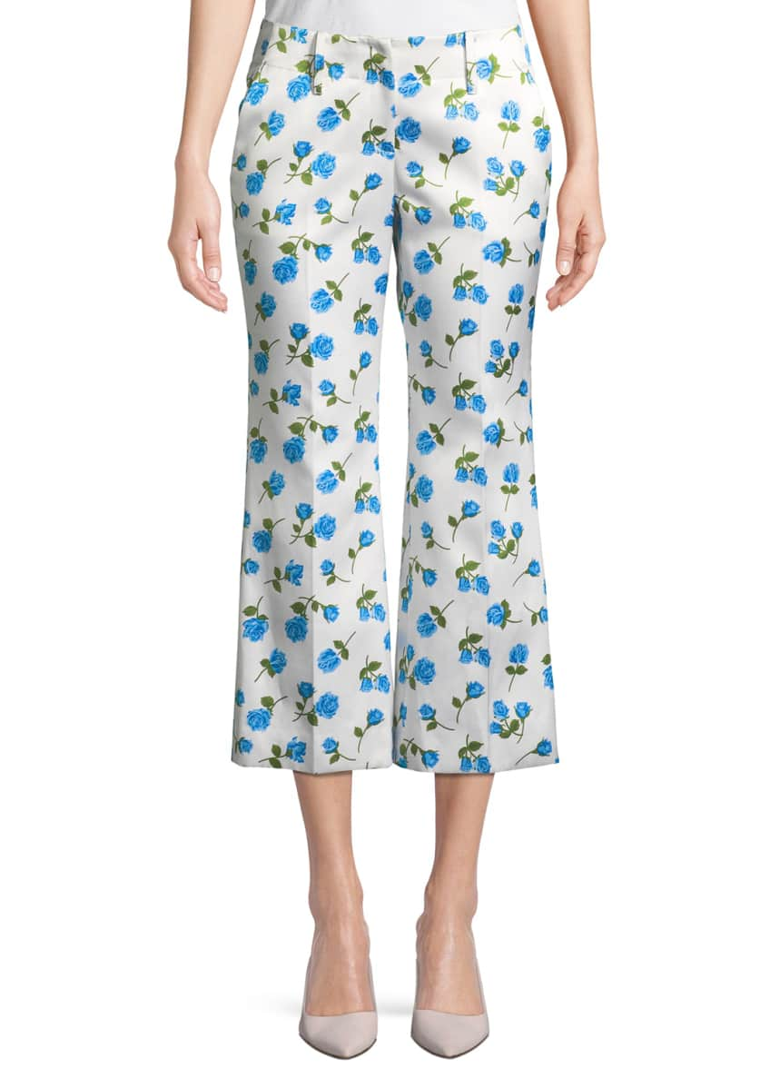 Michael Kors Collection Crewneck Pearlescent-Embellished Cashmere