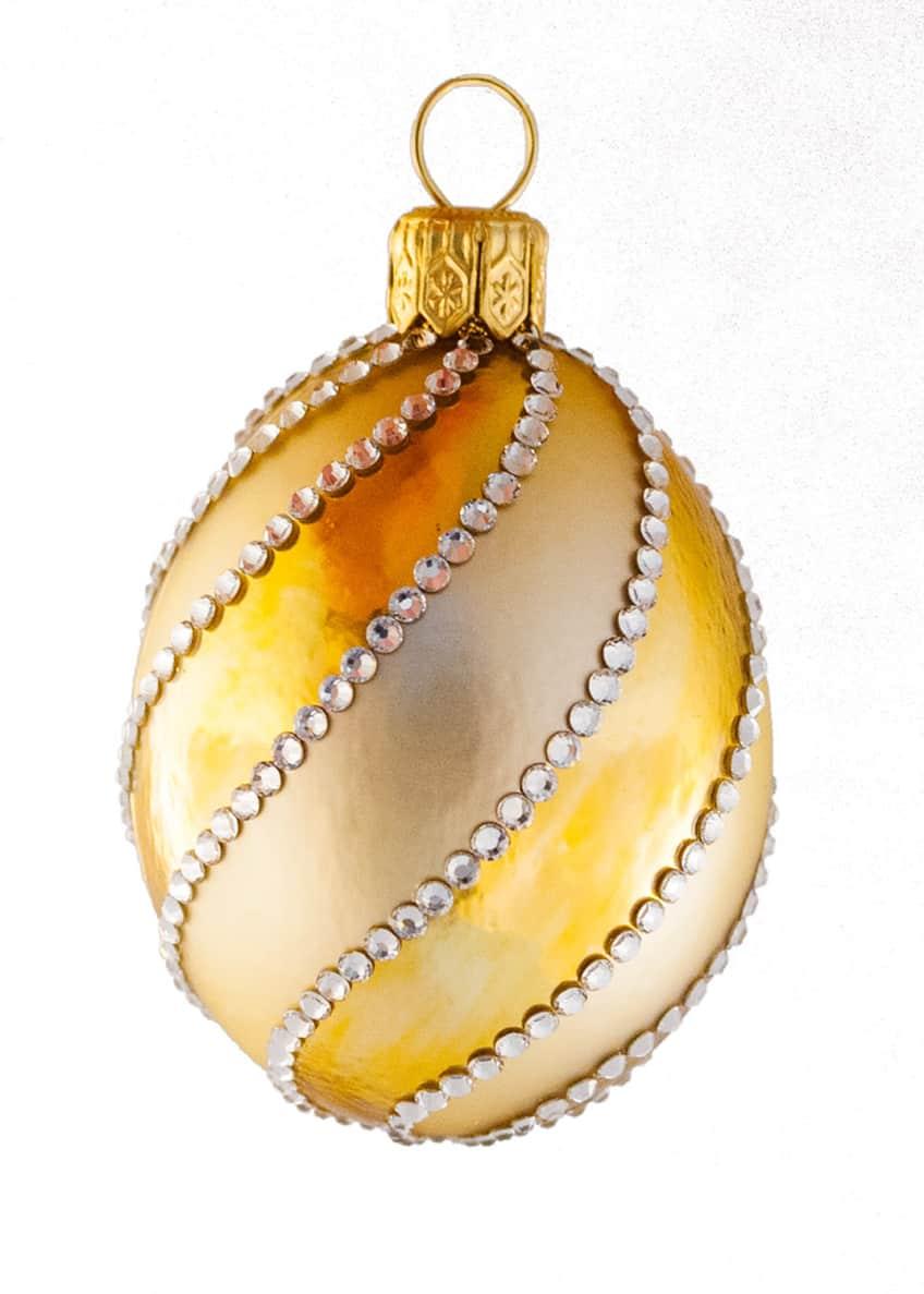 Patricia Breen Petit Egg Spirale Ornament