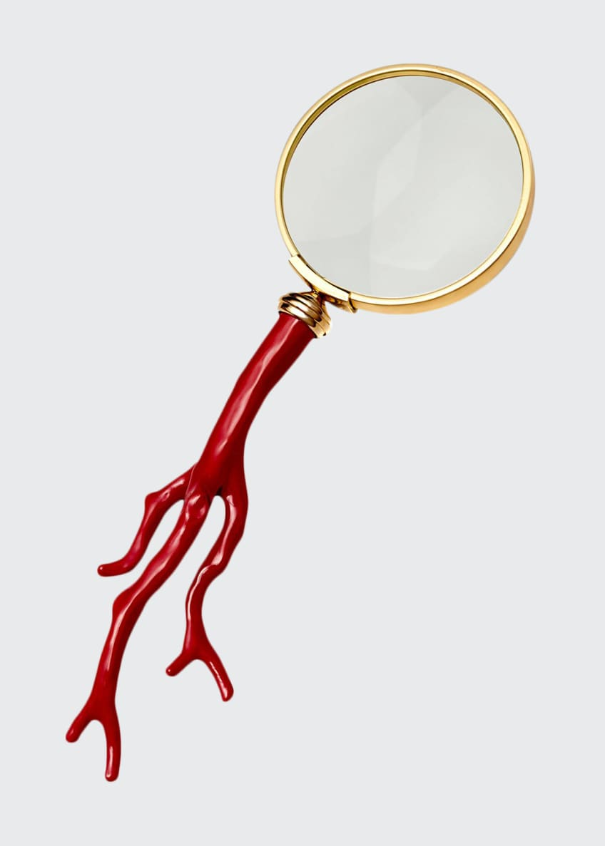 Image 1 of 1: Coral Magnifying Glass