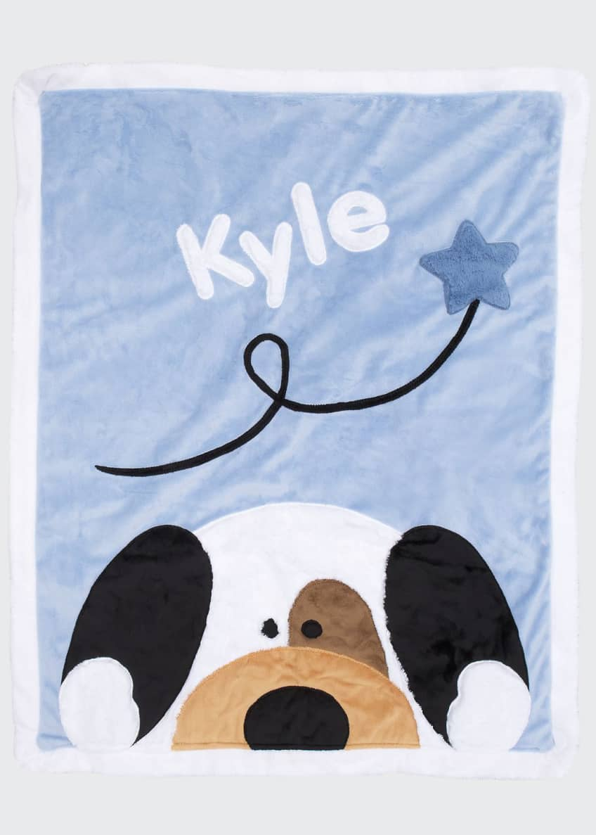Boogie Baby Peek-a-Boo Puppy Blanket, Personalized & Matching
