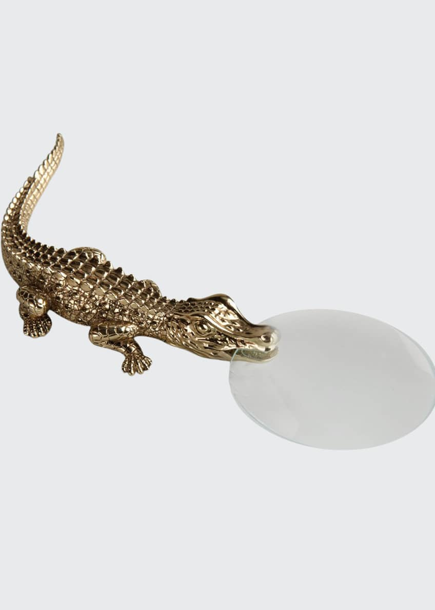 Image 1 of 1: Crocodile Magnifying Glass