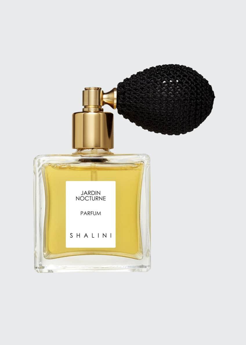 Shalini Parfum Jardin Nocturne Cubique Glass Bottle with