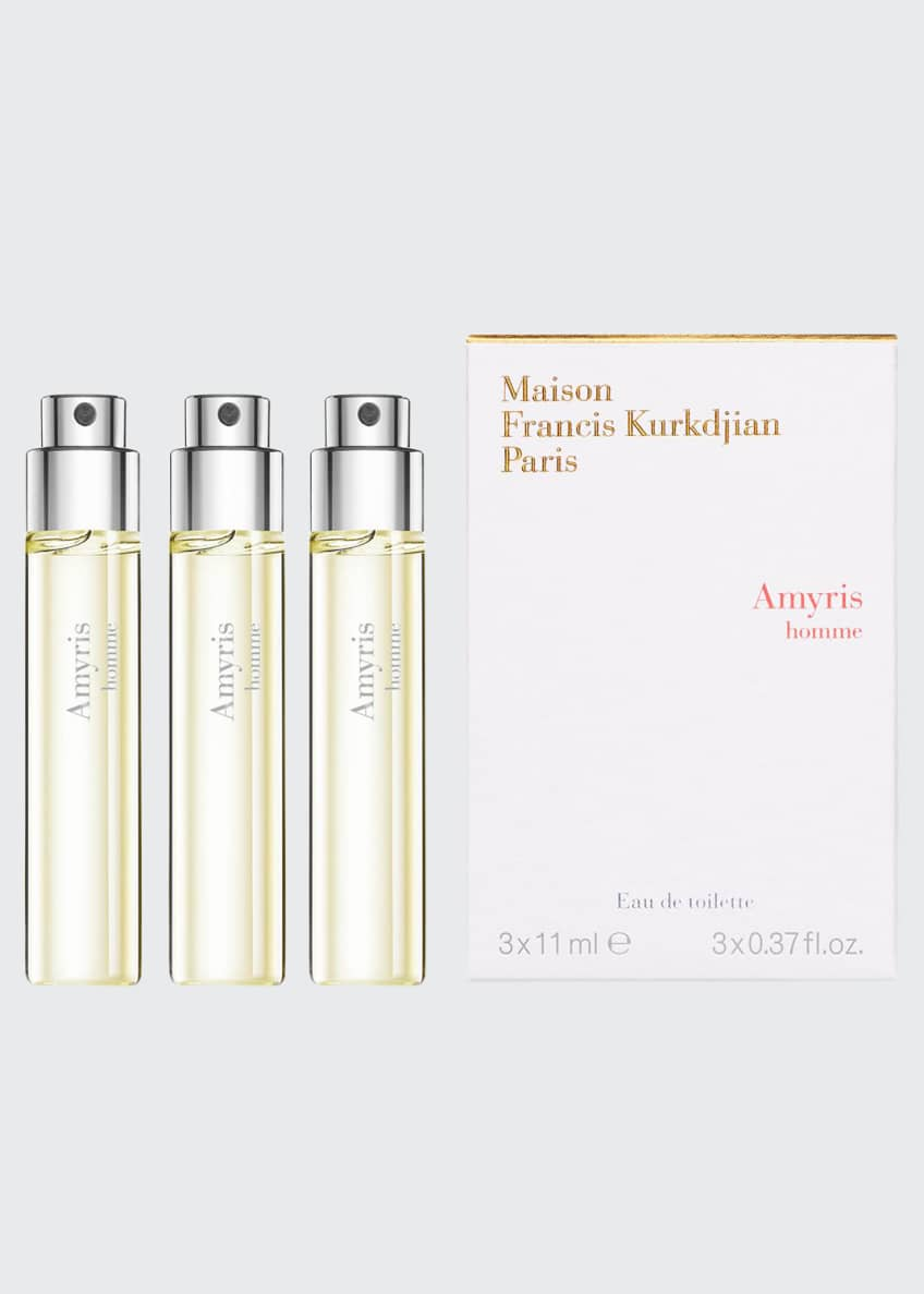 Maison Francis Kurkdjian Amyris homme Eau de Toilette Travel Spray Refills, 3 x 0.37 oz./ 11 mL - Bergdorf Goodman